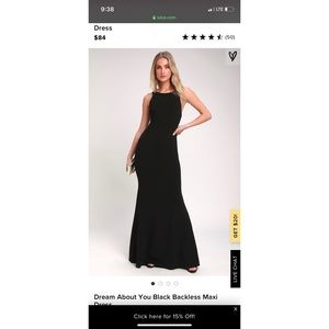 Formal maxi dress very beautiful when put on